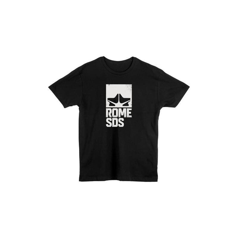 Rome SDS koszulka logo black