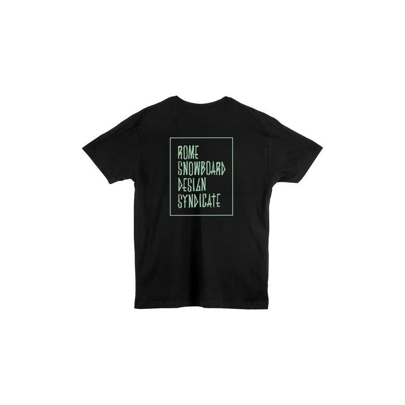 Rome SDS koszulka Stacked